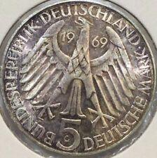 5 DM Münzen der BRD (1951-1974)