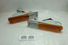DAIHATSU F70 ROCKY FEROZA FOURTRAK TURN SIGNAL LAMP ASSY FRONT BUMPER Pair RL