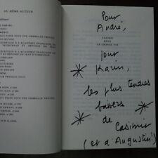 Jean d'Ormesson - CASIMIR MENE LA GRANDE VIE avec dédicace