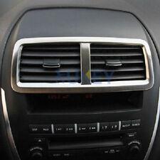 For Mitsubishi ASX 2011-2015 Chrome Dashboard Central Air Vent Cover Trim Frame