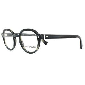 Dolce & Gabbana Glasses Frames DG 3271 3117 Striped Blue 47mm Mens