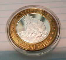 Tropworld Silver Collector's Coin Token - Uncirculated & Protected !