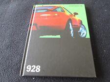 1995 Porsche 928GTS GERMAN Brochure 928 GTS Hardcover Sales Book Rare Catalog