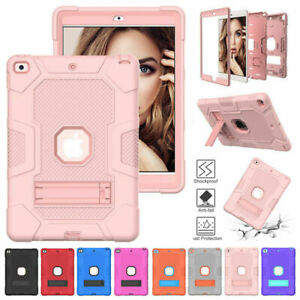 """Hard Stand Shockproof Case Cover For iPad 10.2 2020/19 9.7"""" 5th 6th 8th 7th Mini"""