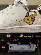 New listing New In Box Adidas Pokemon Advantage K Sneakers Tennis Pikachu EG1999 Shoes