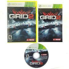 Grid 2 (Microsoft Xbox 360, 2013) Complete with Manual CIB Racing