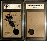Sidney Crosby Pittsburgh Penguins Puzzle Coin Prototype Cards Graded 10 Gem Mint