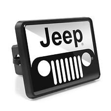 "Jeep Grill ABS Plastic 2"" Plug Tow Hitch Cover"