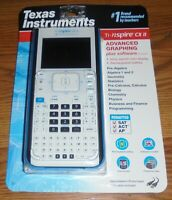 NEW Texas Instruments Ti-nspire CX II - Graphing Calculator College Student Math