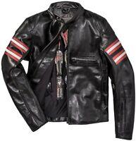 Dainese Rapida 72 Leather Jacket Retro Cafe Racer Motorcycle Jacket Mens Size 46
