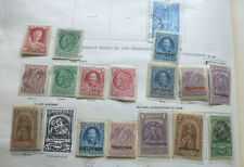 Crete accumulation Mint & Used some very nice stamps on Ideal album page