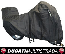DS Alfa Motorcycle With Top Box XL Premium Outdoor Cover Ducati Multistrada 1200