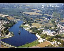 SAINT-PAUL-lés-DAX (40) PISCINE Circulaire & HOTEL DU LAC en vue aérienne