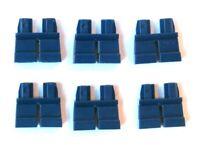 Lego 1 x Legs Leg For Minifigure Figure Black Pocket Belt Jeans