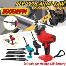 Vaivén sierra sable al aire libre eléctrico sin Cuerda Corte para 18V Batería Makita