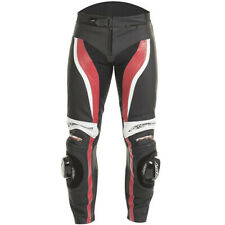 RST Tractech Evo 2 Leather Sports Motorcycle Jeans - Flo Red
