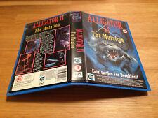 Alligator 2: The Mutation - Horror - UK Ex Rental big box Vhs RARE