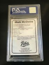 1982 Anchorage Glacier Pilot '82 Mark McGwire PSA 9(oc) MINT