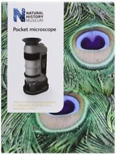 Microscopio De Bolsillo Lupa Lupa de Cristal Tamaño Pequeño Compacto LED Zoom 20x-40x Hágalo usted mismo