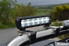 """12"""" in alluminio 7D LED Spot Light Bar + DRL/Parco Luce doppia funzione"""