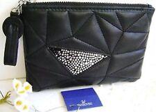 swarovski Signa Black  Zip  Pouch 1168922  New