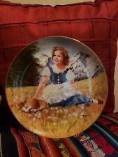"Shirley Temple Plate ""Heidi"" The Danbury Mint"