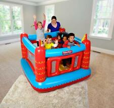 FISHER PRICE CHILDREN KIDS INFLATABLE BOUNCY CASTLE PLAY HOUSE JUMPER GAME TOY
