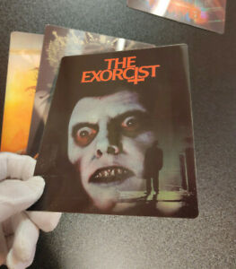 THE EXORCIST - Multi Image 3D Lenticular Magnetic Cover FOR bluray steelbook
