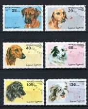 SAHARAUI 1998 DOGS PERROS CHIENS CAES DOMESTICATED ANIMALS FAUNA STAMPS MNH CTO