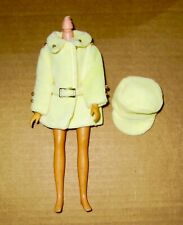 Takara Vintage Licca Doll Yellow Dress/Belt and Matching Hat #8543