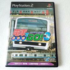 Densha De Go3! Let's Go By Train Playstation PS2 Japan Ver. Taito