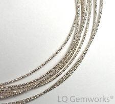 1 oz STERLING SILVER Glitter Round Wire 21ga Hard