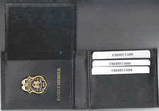 Federal Reserve Police Officer's Family Member Money/CC Wallet w/Mini Badge CT70