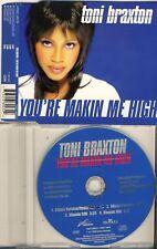 TONI BRAXTON - you're makin me high  4 trk MAXI CD 1996