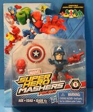 MARVEL SUPER HERO MASHERS MICROS SINGLES SERIES 1 CAPTAIN AMERICA