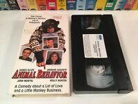 * Animal Behavior Family Chimpanzee Comedy VHS 1989 Karen Allen Holly Hunter 80s