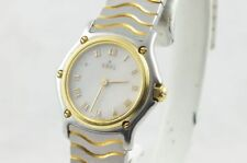 Ebel 1911 Watch Steel /750 Gold 23mm Sport Classique Pearl 2 1057901 4