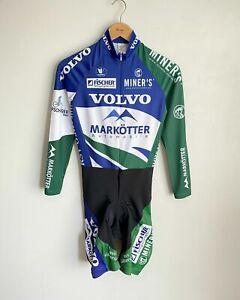 Vermarc Sport Cyclocross Speedsuit Cycling Skin Suit Mens M Regular Volvo Miners