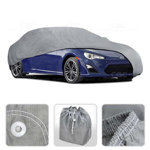 Car Cover for Scion FR-S 13-15 Outdoor Breathable Sun Dust Proof Auto Protection