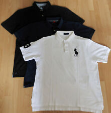 Paket 3 Polo-Shirts Hilfiger S.Oliver Ralph Lauren, Gr. XXXXL 4 XL, top Zustand