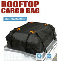 Car Roof Top Rack Carrier Cargo Bag Slightly Waterproof Luggage  Cube Bag Travel