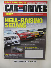 Car and Driver Magazine   December  2007    Preview: Nissan GT-R