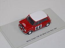 1/43 Spark Morris Mini Cooper Car #66  6th in  Monte Carlo Rally 1963 S1188