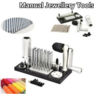 Professional Jump Ring Maker Jewelry Coil Wire Cutter Machine Kit 2.5 to 12 mm