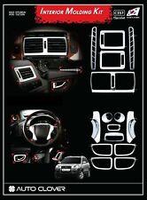 Auto Clover Chrome Interior Styling Trim Set for Hyundai Tucson 2004 - 2010