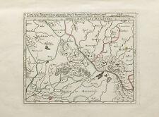 "1748 Map of Brabant Belgium ""Carte Du Brabant"""