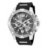 Invicta Men's 19656 I-Force Analog Display Swiss Quartz Watch - Silver