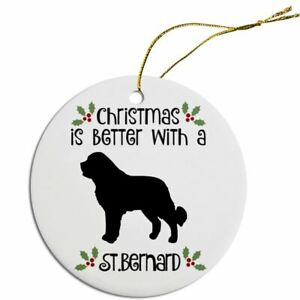 Breed Specific Round Christmas Ornament