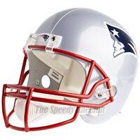 NEW ENGLAND PATRIOTS RIDDELL VSR4 NFL FULL SIZE REPLICA FOOTBALL HELMET