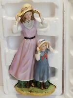Vintage 1998 Home Interiors Gifts Summer Days Woman And Child Item 88412-98
